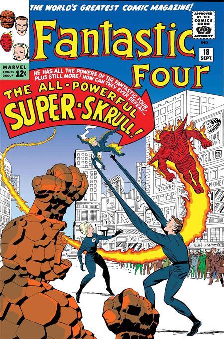TRUE BELIEVERS FANTASTIC FOUR SUPER SKRULL #1