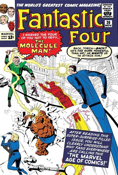 TRUE BELIEVERS FANTASTIC FOUR MOLECULE MAN #1
