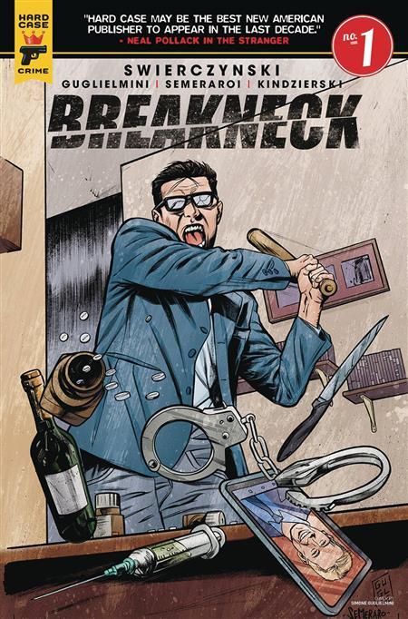 BREAKNECK #1 (OF 5) CVR B GUGLIELMINI