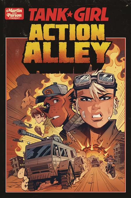 TANK GIRL ACTION ALLEY #1 CVR A PARSON