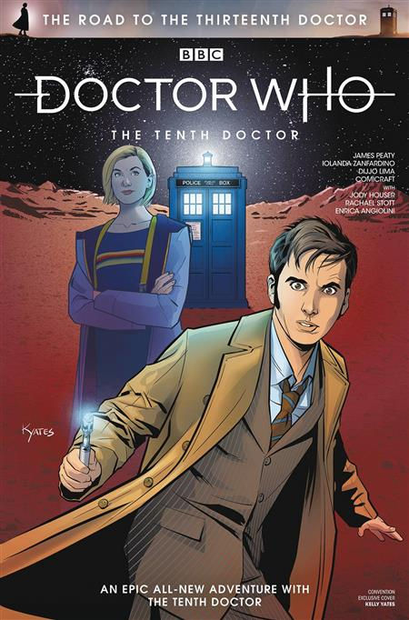 ROAD TO THE 13TH DOCTOR #1 SDCC VAR