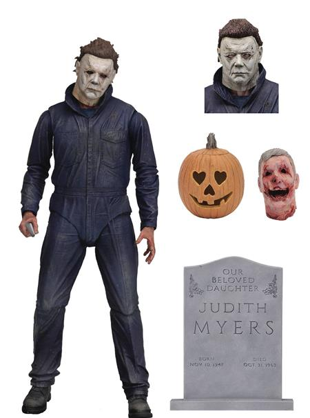 HALLOWEEN ULTIMATE MICHAEL MYERS 7IN SCALE AF (C: 1-1-1)