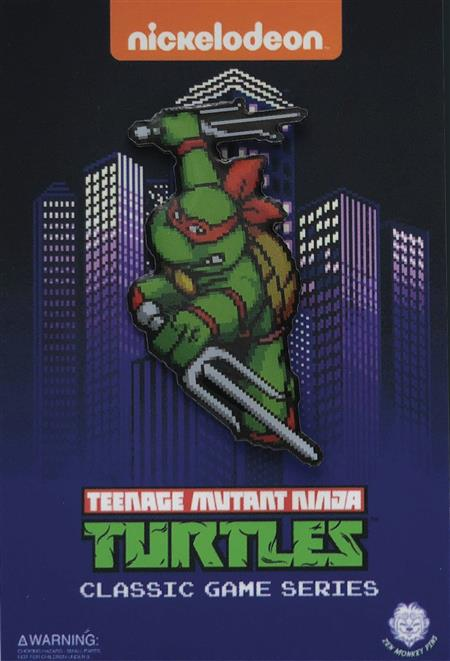 TMNT Turtles In Time Character Select Raphael Pin (C: 1-1-2