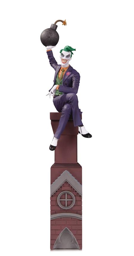 BATMAN ROGUES GALLERY MULTI PART STATUE THE JOKER