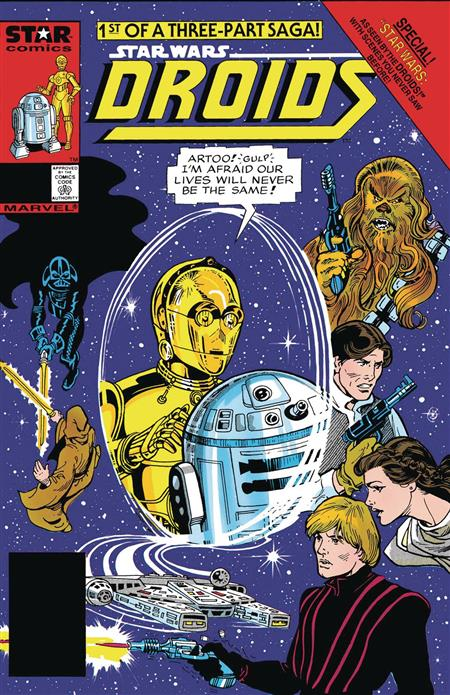 TRUE BELIEVERS STAR WARS ACCORDING TO DROIDS #1