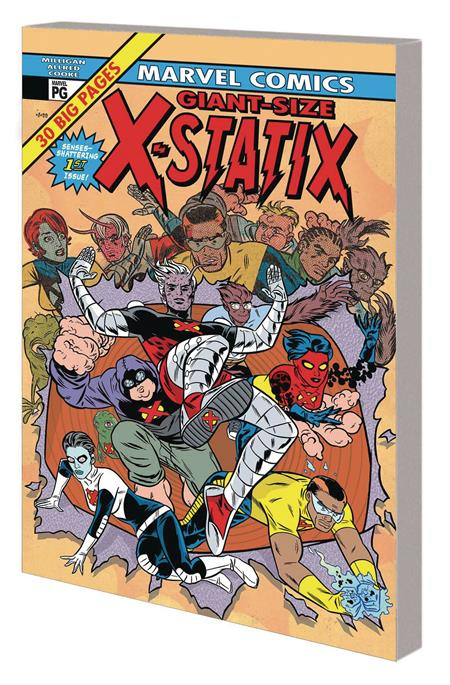 X-STATIX COMPLETE COLLECTION TP VOL 01