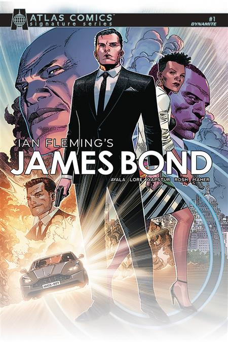 JAMES BOND #1 AYALA & LORE SGN ATLAS ED (C: 0-1-2)