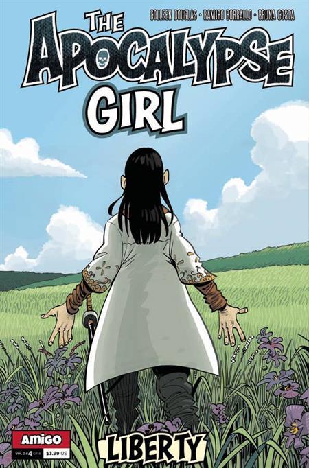 APOCALYPSE GIRL VOL 2 LIBERTY #4 (OF 4) (C: 0-0-1)