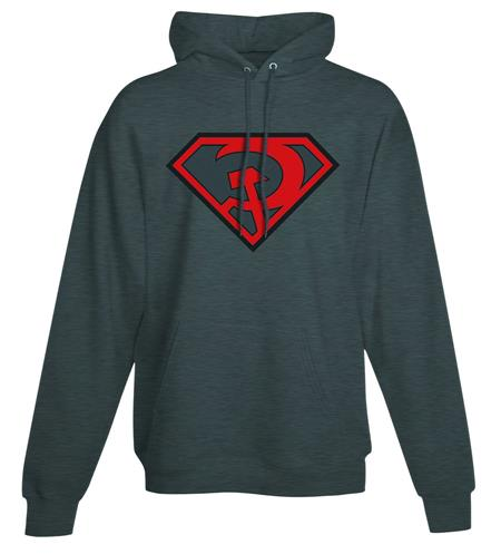 SUPERMAN RED SON SYMBOL HOODIE LG (C: 1-1-0)