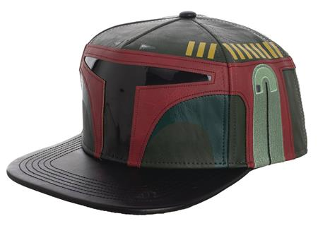 STAR WARS BOBA FETT EMBROIDERED SNAPBACK CAP W/SOUND CHIP (C