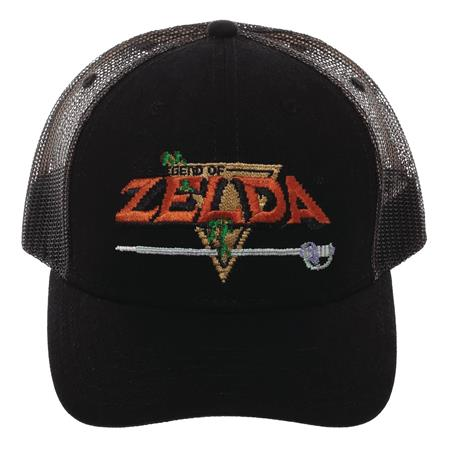 LEGEND OF ZELDA PRECURVED TRUCKER CAP (C: 0-0-2)