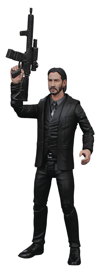JOHN WICK SELECT BLACK SUIT FIGURE (C: 1-1-2)