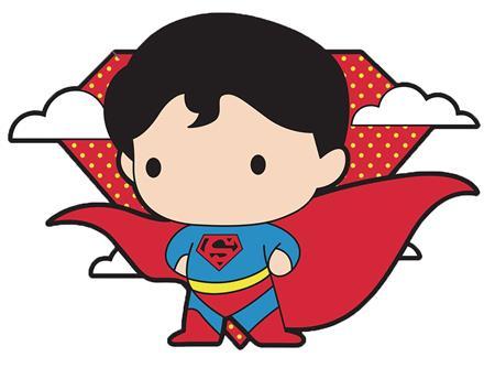 DC CHIBI SUPERMAN PIN (C: 1-1-1)