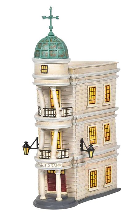 D56 HP VILLAGE GRINGOTTS BANK LIGHTED FIGURINE (C: 1-1-2)
