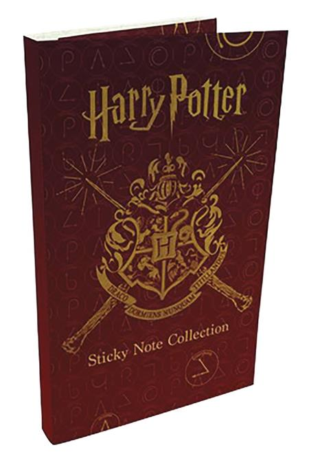 HARRY POTTER STICKY NOTE COLLECTION (C: 1-1-2)