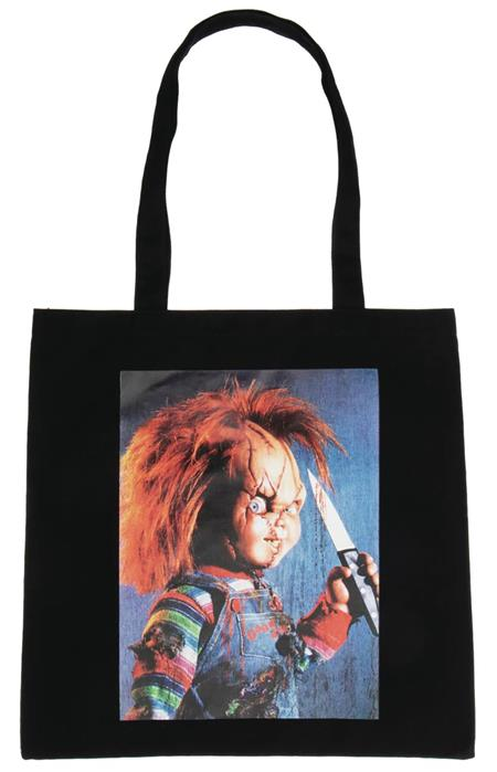CHILDS PLAY CHUCKY IMAGE CAPTURE CANVAS TOTE (C: 1-1-2)
