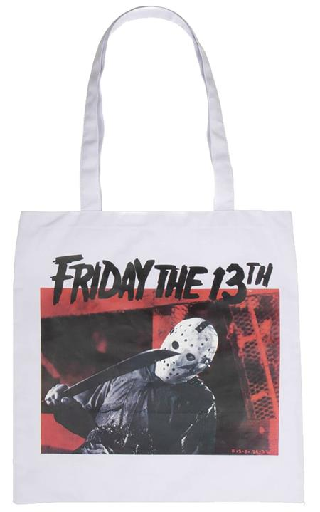 FRIDAY THE 13TH IMAGE CAPTURE CANVAS TOTE (C: 1-1-2)
