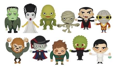 UNIVERSAL MONSTERS 3D FOAM BAG CLIP 24PCS BMB DS (C: 1-1-2)