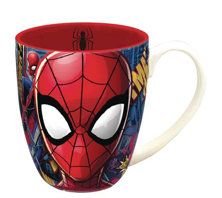 MARVEL HEROES SPIDER-MAN FACE MUG (C: 1-1-2)