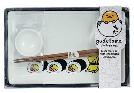 GUDETAMA SUSHI PLATE SET