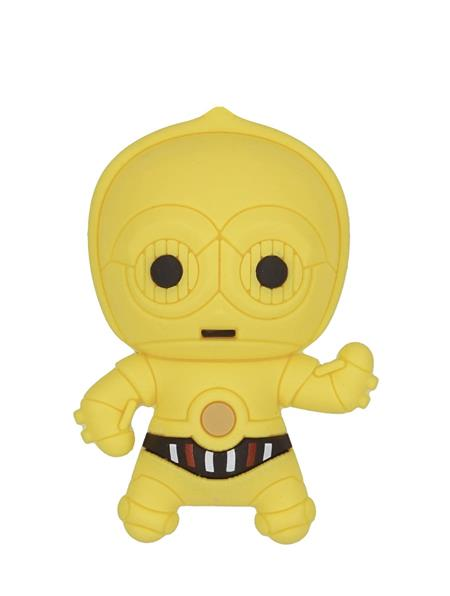 STAR WARS C3PO 3D FOAM MAGNET (C: 1-1-2)
