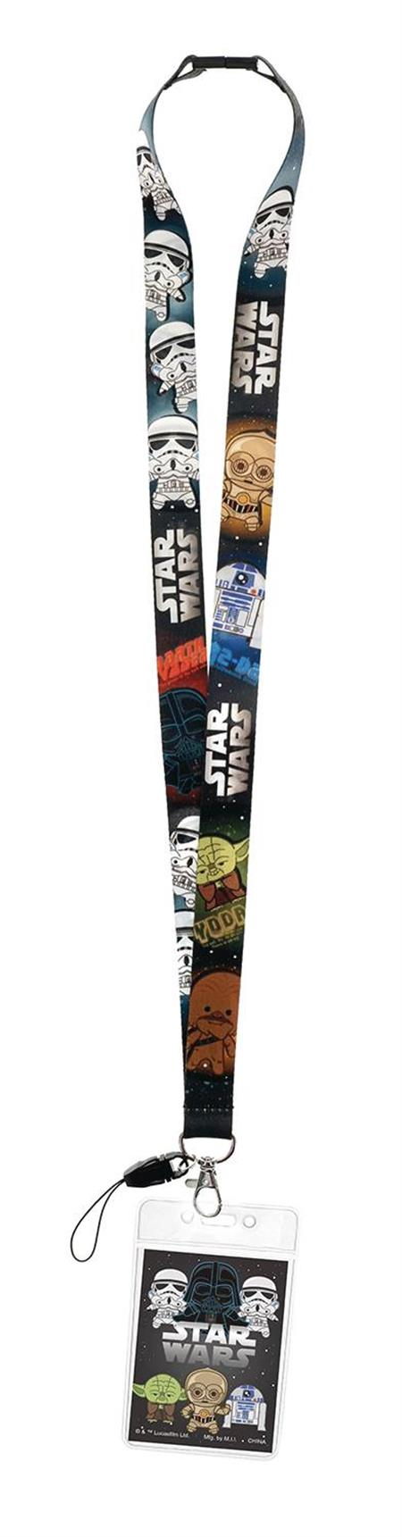 STAR WARS KAWAII CAST LANYARD (C: 1-1-2)