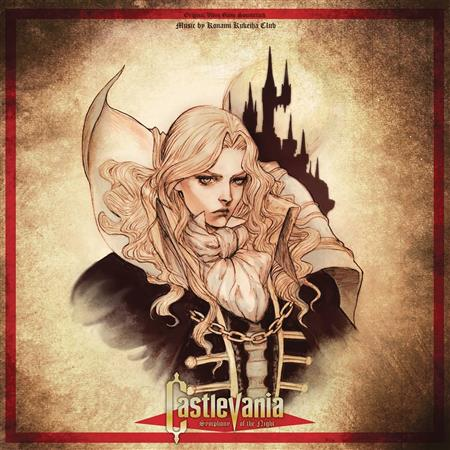CASTLEVANIA SYMPHONY OF THE NIGHT VIDEO GAME OST 10IN LP (Ne