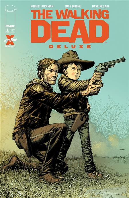WALKING DEAD DLX #5 CVR A FINCH & MCCAIG (MR)