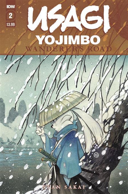 USAGI YOJIMBO WANDERERS ROAD #2 (OF 6) PEACH MOMOKO CVR