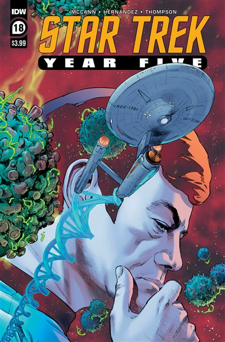 STAR TREK YEAR FIVE #18
