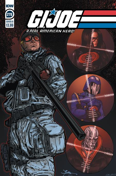 GI JOE A REAL AMERICAN HERO #278 CVR B JAMIE SULLIVAN
