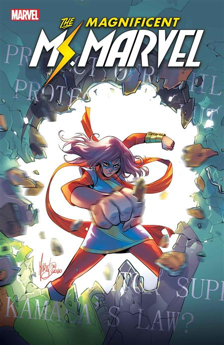 MAGNIFICENT MS MARVEL #17