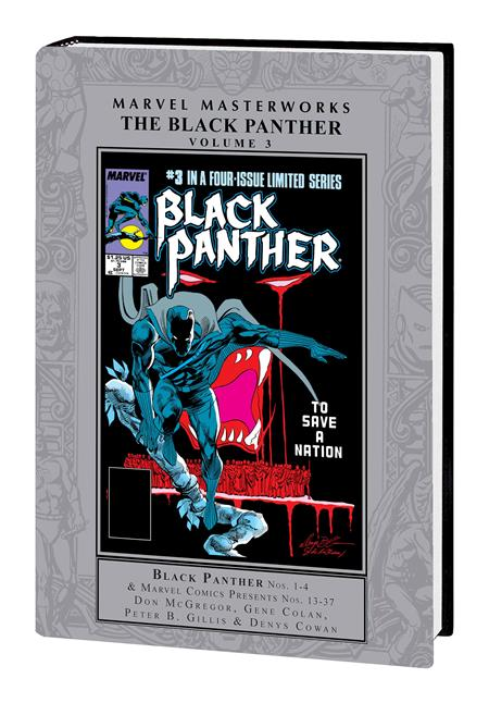 MMW BLACK PANTHER HC VOL 03