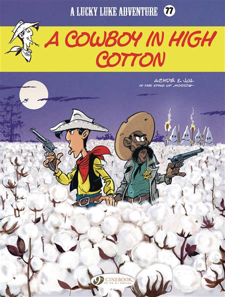 LUCKY LUKE TP VOL 77 COWBOY IN HIGH COTTON (C: 0-1-1)