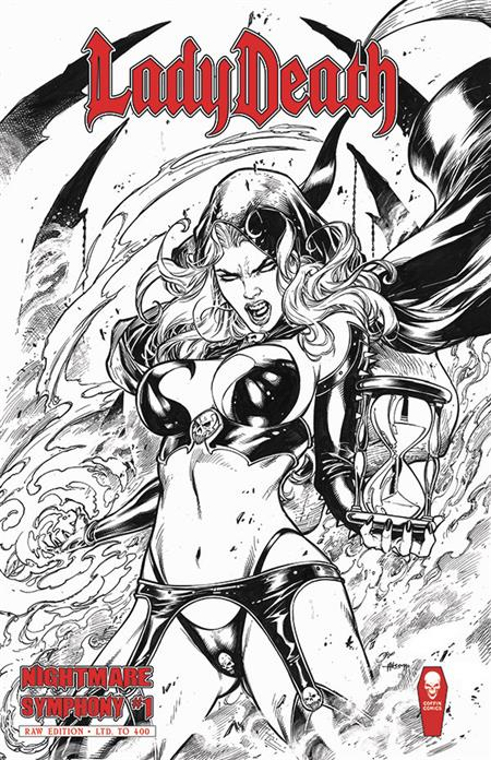 LADY DEATH SCORCHED EARTH #1 (OF 2) RAW ED (MR)