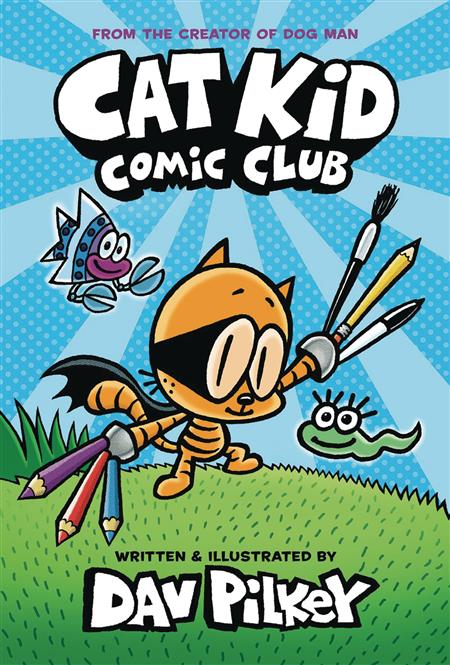CAT KID COMIC CLUB HC GN VOL 01 (C: 0-1-0)