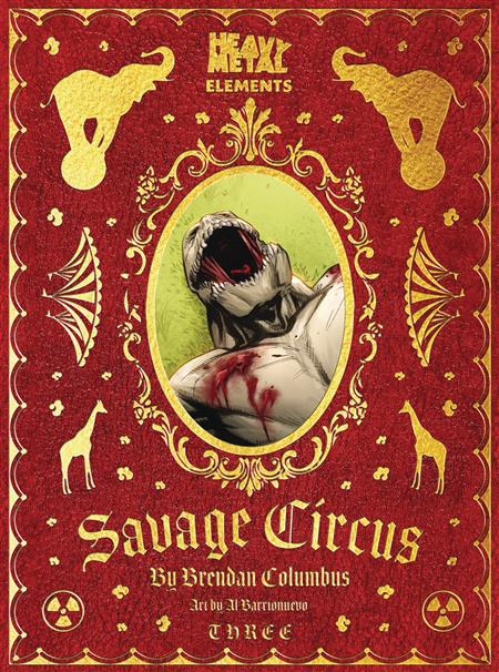 SAVAGE CIRCUS #3 (OF 10) (MR)