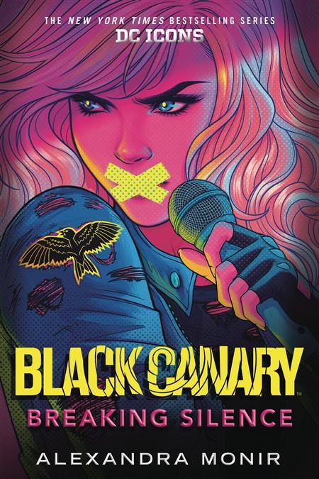BLACK CANARY NOVEL HC BREAKING SILENCE (C: 0-1-0)
