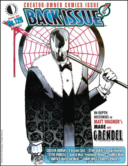 BACK ISSUE #125 (C: 0-1-1)