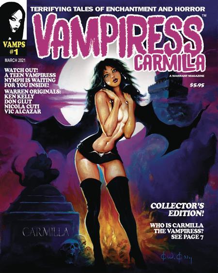 VAMPIRESS CARMILLA MAGAZINE #1 (MR)
