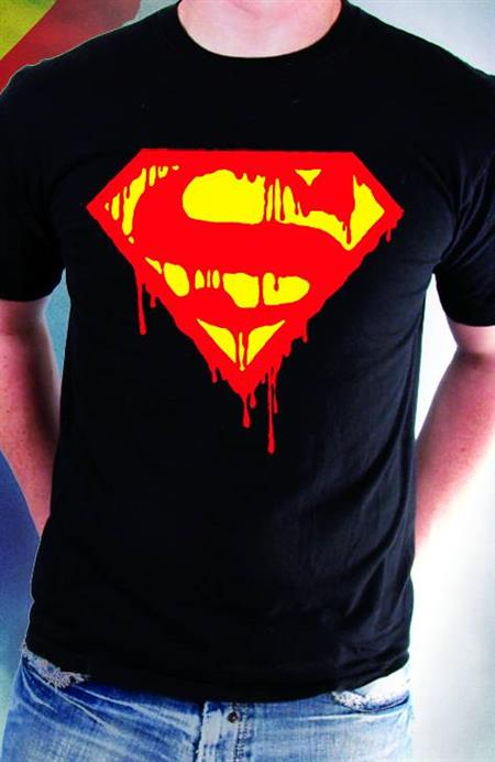 DEATH OF SUPERMAN COMMEMORATIVE T/S LG (C: 1-1-2)