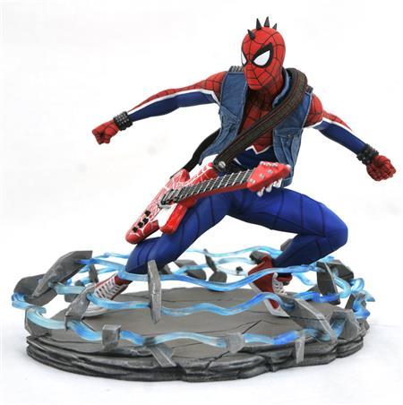 MARVEL GALLERY PS4 SPIDER-PUNK PVC STATUE (C: 1-1-2)