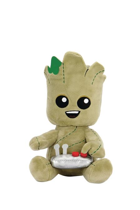 PHUNNY MARVEL GROOT W/BUTTON PLUSH (C: 1-1-2)
