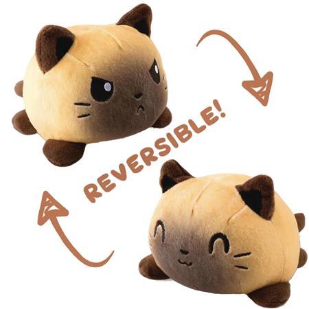 TEETURTLE REVERSIBLE CAT MINI SIAMESE PLUSH (C: 1-1-0)