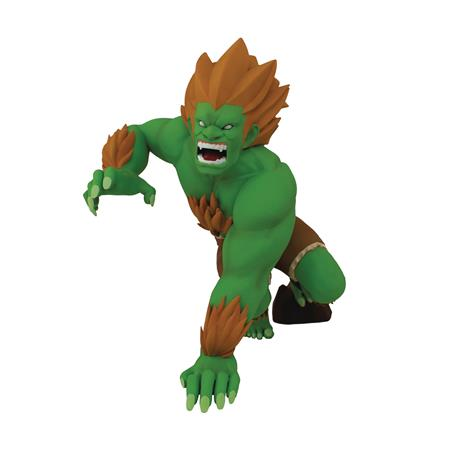 STREET FIGHTER BLANKA UNLEASHED 8.5IN PVC DESIGNER FIGURE (C