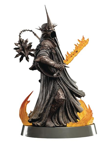 FIGURES OF FANDOM LOTR WITCH-KING OF ANGMAR PVC STATUE (C: 1