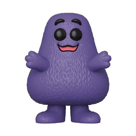 POP AD ICONS MC DONALDS GRIMACE VINYL FIGURE (C: 1-1-2)