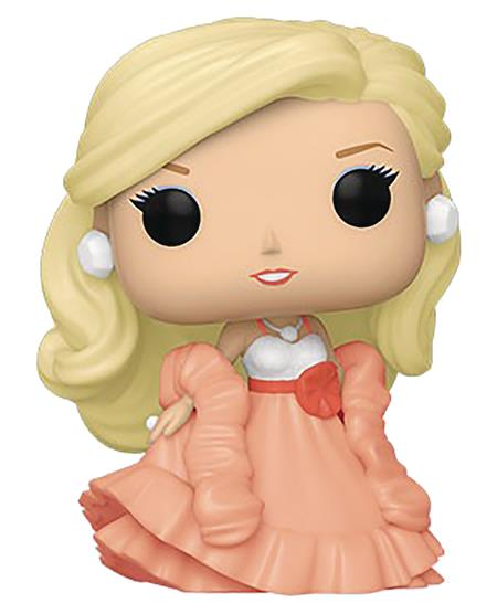 POP BARBIE PEACHES N CREAM BARBIE VINYL FIG (C: 1-1-2)