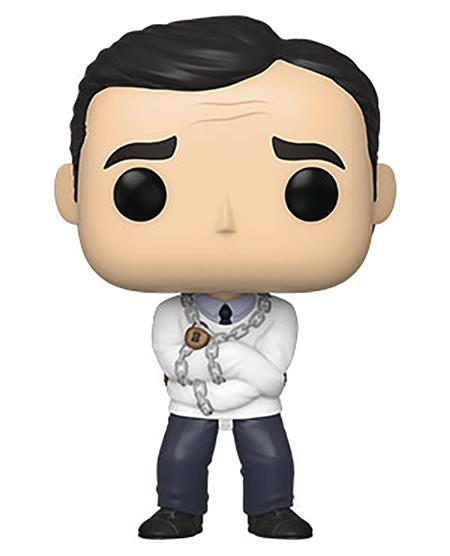 POP TV OFFICE STRAITJACKET MICHAEL VINYL FIG (C: 1-1-1)