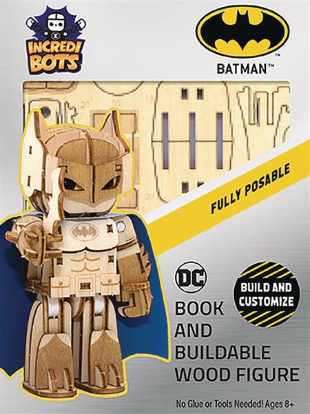 INCREDIBUILDS DC BATMAN INCREDIBOTS MODEL (C: 1-1-0)